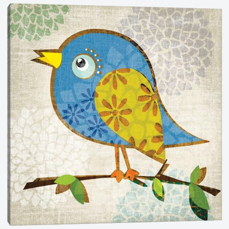 Chirpy Canvas Print #TAN47} by Tandi Venter Art Print