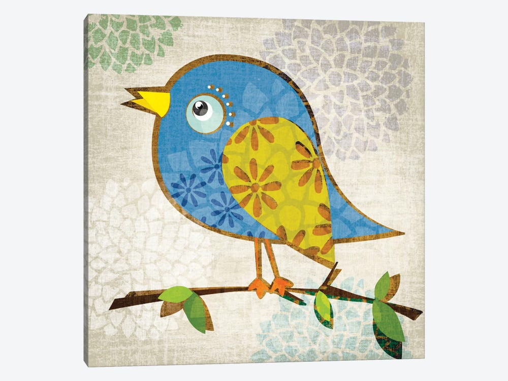 Chirpy by Tandi Venter 1-piece Canvas Wall Art