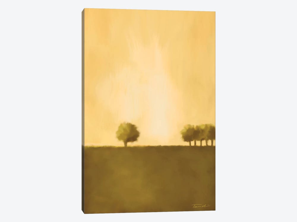 Cluster Of Trees II by Tandi Venter 1-piece Canvas Artwork