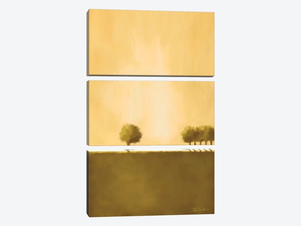 Cluster Of Trees II by Tandi Venter 3-piece Canvas Artwork