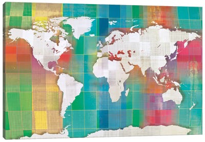 Color My World Canvas Art Print