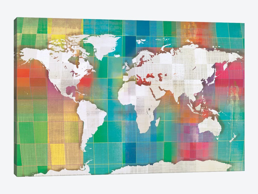 Color My World by Tandi Venter 1-piece Canvas Wall Art