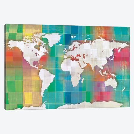 Color My World Canvas Print #TAN52} by Tandi Venter Art Print