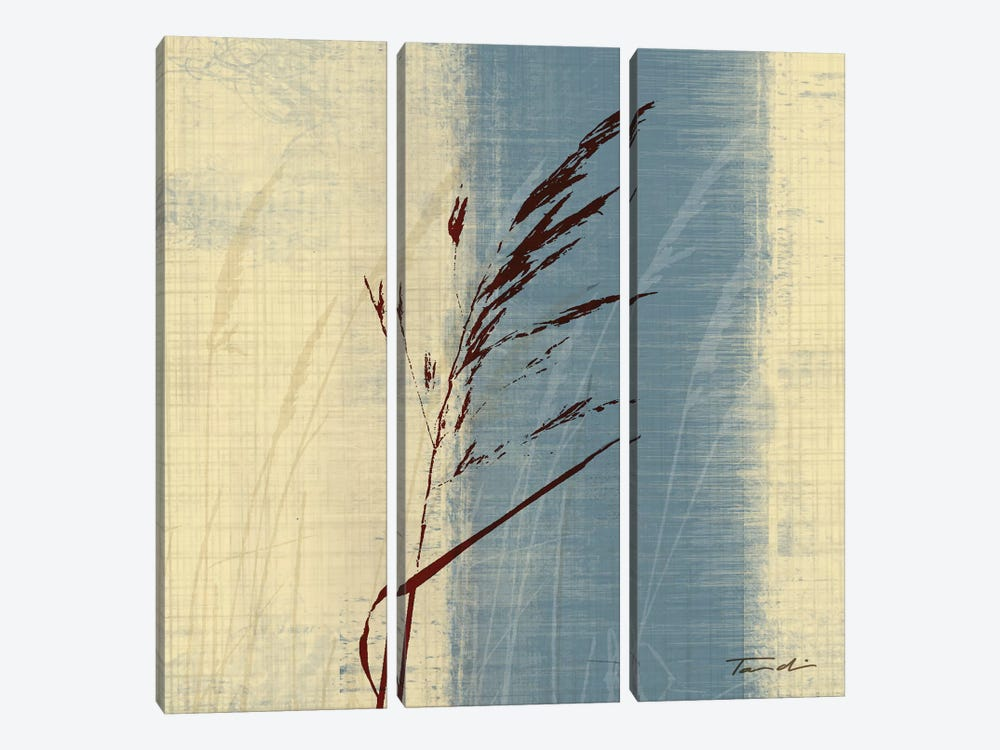Dancing Grass II by Tandi Venter 3-piece Canvas Artwork