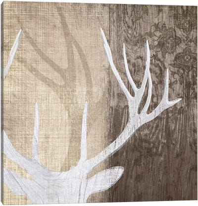 Deer Lodge II Canvas Art Print