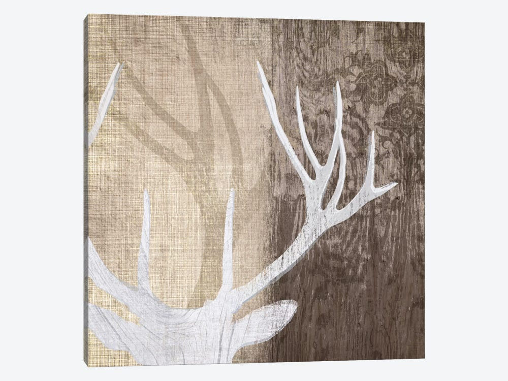 Deer Lodge II Canvas Wall Art by Tandi Venter   iCanvas