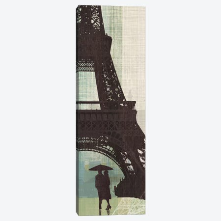 Eiffel Tower I Canvas Print #TAN66} by Tandi Venter Art Print