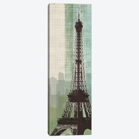 Eiffel Tower II Canvas Print #TAN67} by Tandi Venter Canvas Print