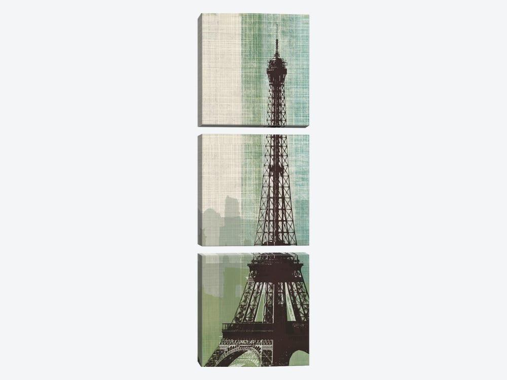 Eiffel Tower II by Tandi Venter 3-piece Canvas Art