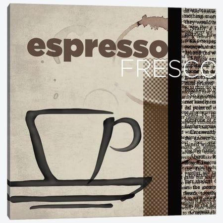 Espresso Fresco Canvas Print #TAN72} by Tandi Venter Canvas Art Print