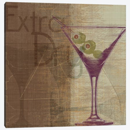 Extra Dry Canvas Print #TAN73} by Tandi Venter Art Print