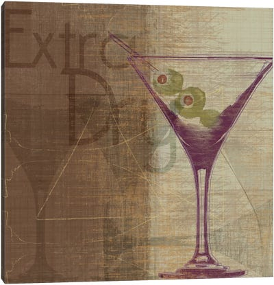 Extra Dry Canvas Art Print