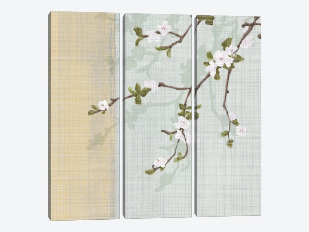 First Sign Of Spring I by Tandi Venter 3-piece Canvas Artwork
