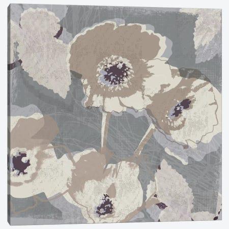 Flower Layers I Canvas Print #TAN78} by Tandi Venter Canvas Art Print