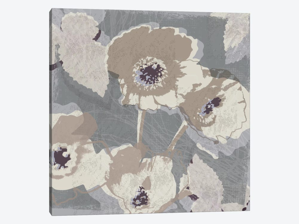 Flower Layers I by Tandi Venter 1-piece Canvas Wall Art