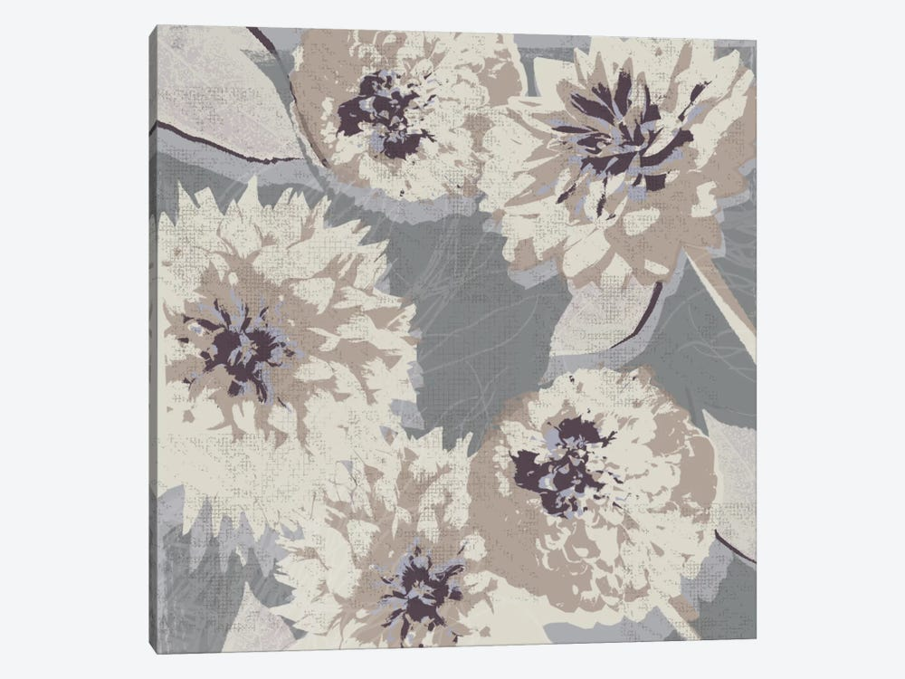 Flower Layers II by Tandi Venter 1-piece Art Print