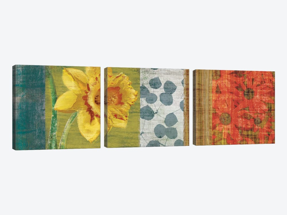 Garden Collection I by Tandi Venter 3-piece Canvas Wall Art