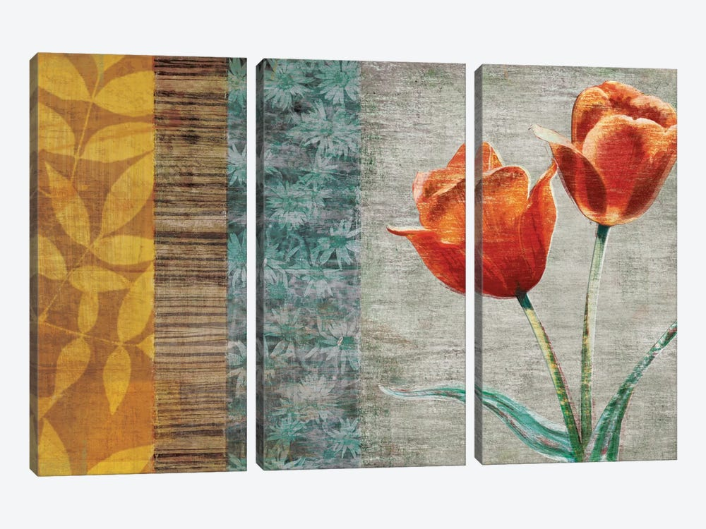 Garden Collection II by Tandi Venter 3-piece Canvas Print