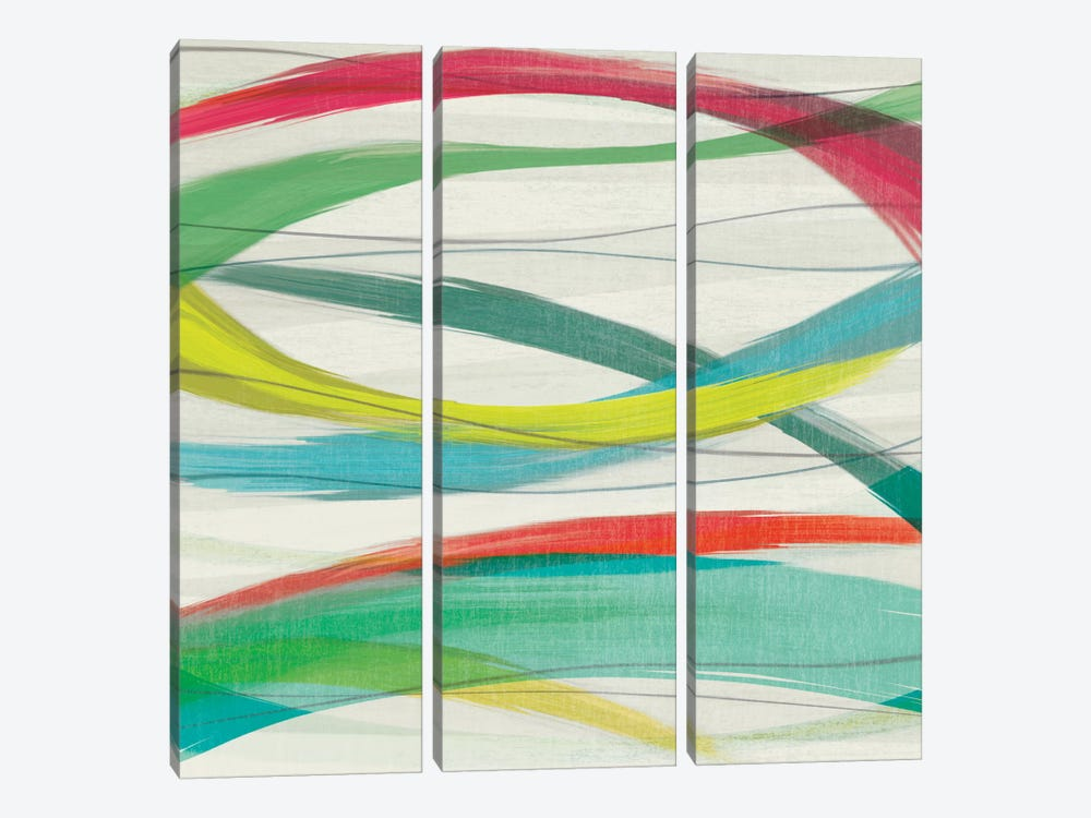 Heatwave I 3-piece Canvas Wall Art