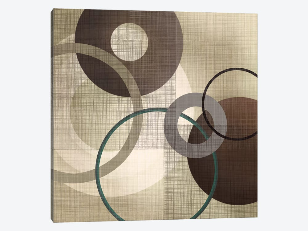 Hoops 'N' Loops I by Tandi Venter 1-piece Canvas Art