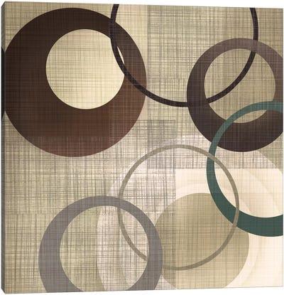 Hoops 'N' Loops II Canvas Art Print