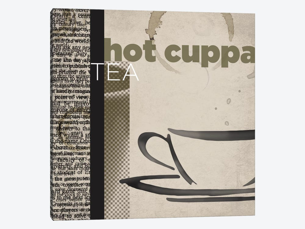 Hot Cuppa Tea by Tandi Venter 1-piece Canvas Art