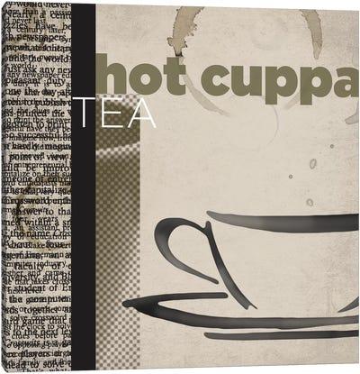 Hot Cuppa Tea Canvas Print #TAN98