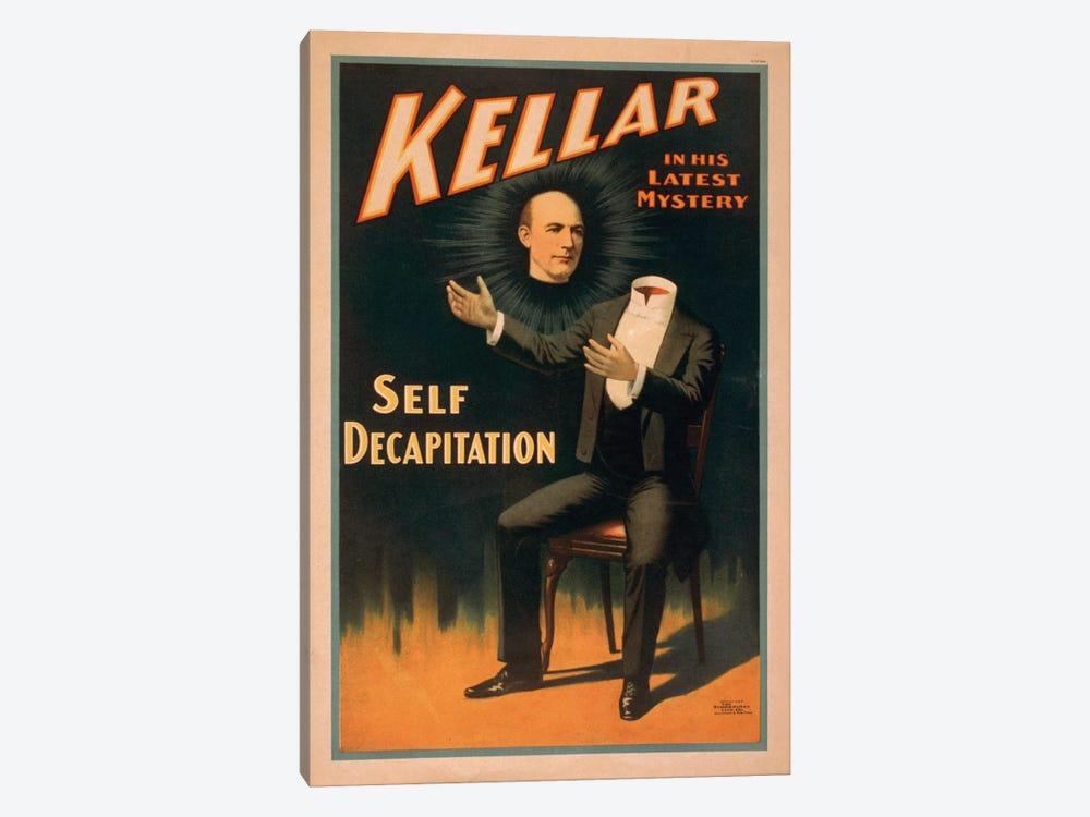 Kellar In His Latest Mystery: Decapitation Vintage Print by Top Art Portfolio 1-piece Art Print