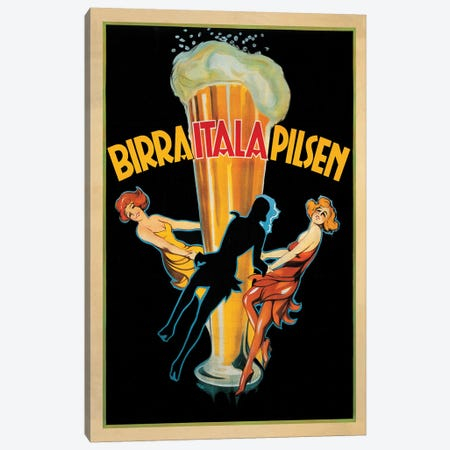 Birra Itala Pilsen, 1920 Ca. Canvas Print #TAP27} by Top Art Portfolio Canvas Print