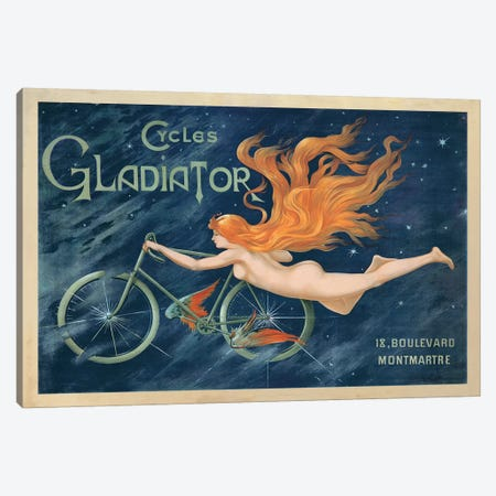 Cycles Gladiator, 1895 Ca. Canvas Print #TAP28} by Top Art Portfolio Canvas Artwork