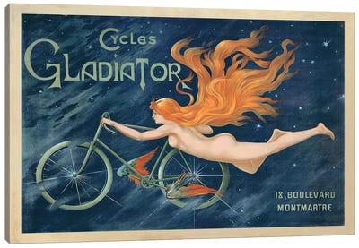 Cycles Gladiator, 1895 Ca. Canvas Art Print