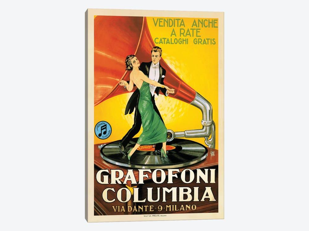 Grafofoni Columbia, 1920 Ca. by Top Art Portfolio 1-piece Canvas Wall Art
