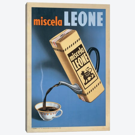 Miscela Leone, 1950 Canvas Print #TAP32} by Top Art Portfolio Canvas Art Print
