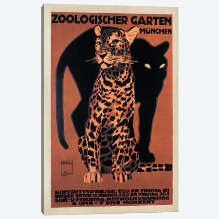 Zoologischer Garten, 1912 Canvas Print #TAP35} by Top Art Portfolio Canvas Art