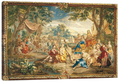 Brussels Tapestry, 18th Century Canvas Art Print