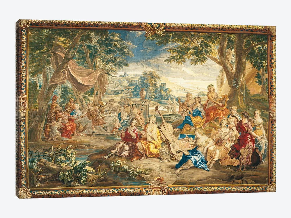 Brussels Tapestry, 18th Century by Top Art Portfolio 1-piece Canvas Art Print