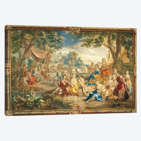 Brussels Tapestry, 18th Century Canvas Print #TAP37} by Top Art Portfolio Canvas Art