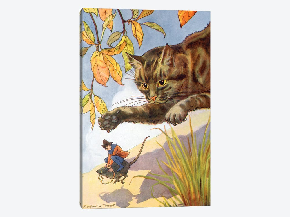 Jack & The Beanstalk II by Margaret Tarrant 1-piece Canvas Art Print