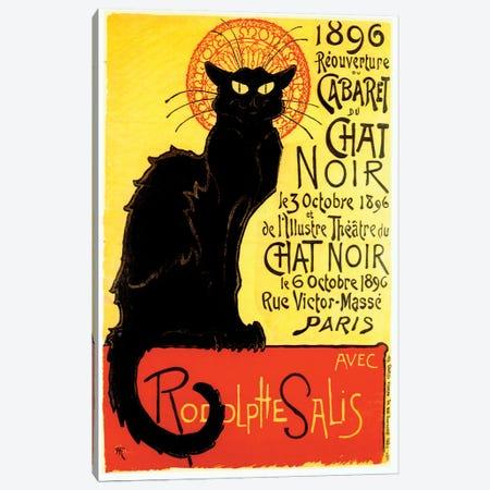 Cabaret du Chat Noir, 1896 Canvas Print #TAS1} by Theophile Alexandre Steinlen Canvas Wall Art