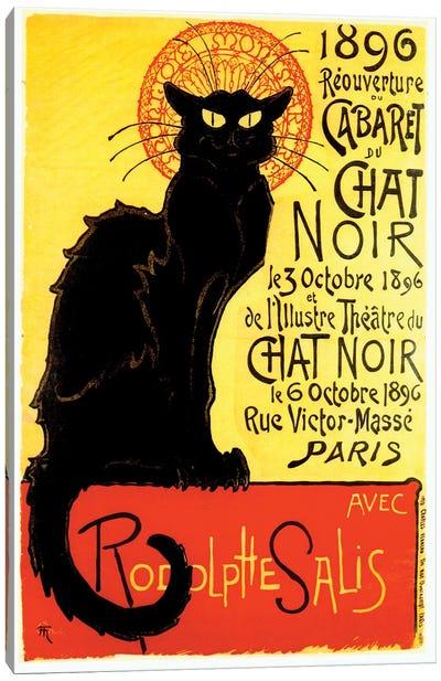 Cabaret du Chat Noir, 1896 Canvas Art Print