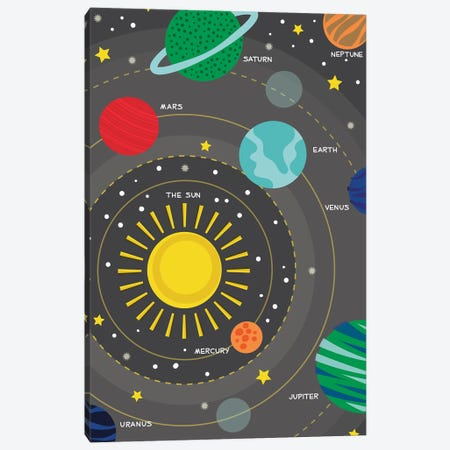 Into Orbit Canvas Print #TAU10} by Alison Tauber Canvas Artwork