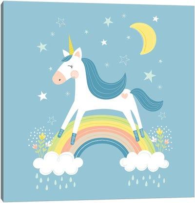 Unicorn Magic I Canvas Art Print