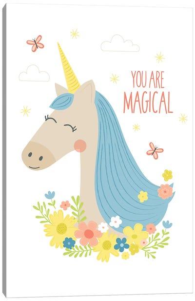 Unicorn Magic II Canvas Art Print