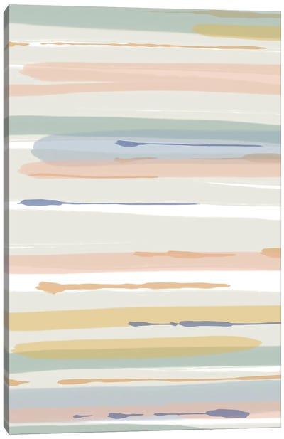 Washy Shapes Canvas Art Print