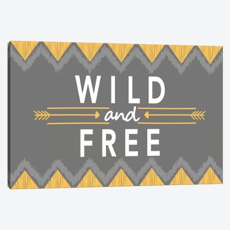 Wild And Free Canvas Print #TAU7} by Alison Tauber Canvas Art Print