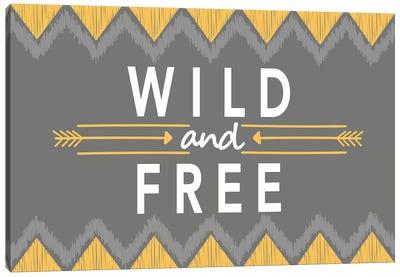 Wild And Free Canvas Art Print