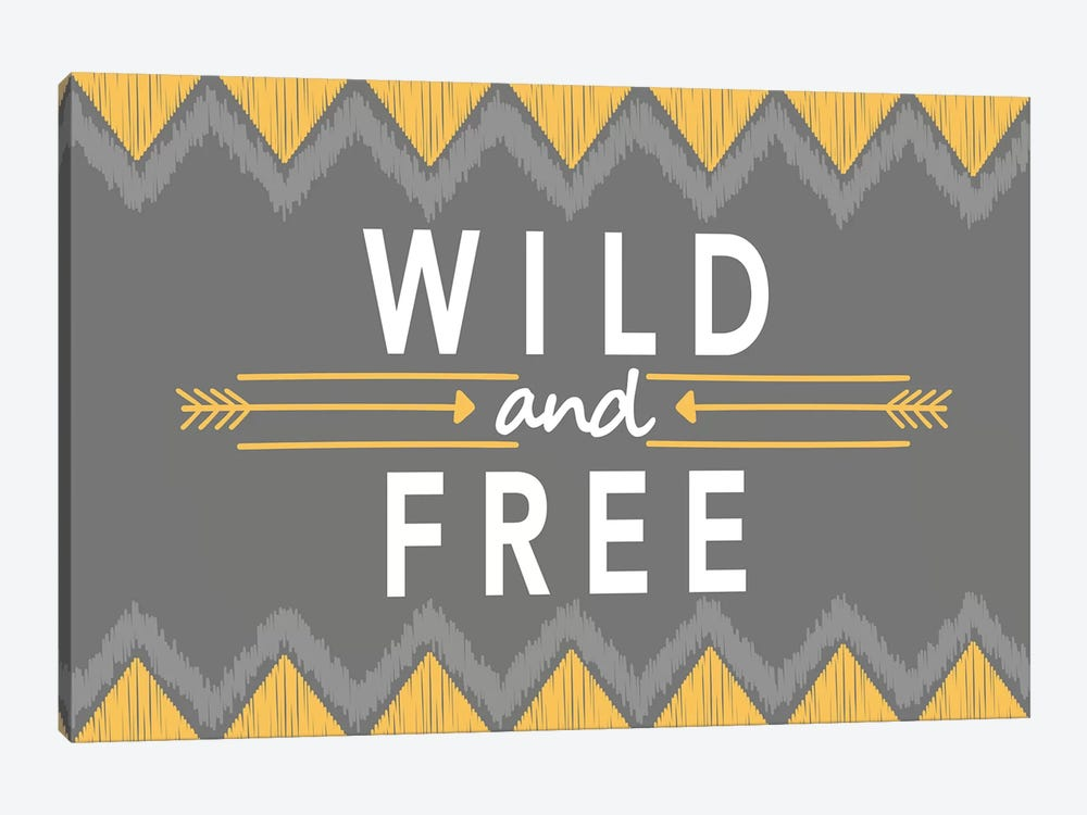 Wild And Free by Alison Tauber 1-piece Canvas Art