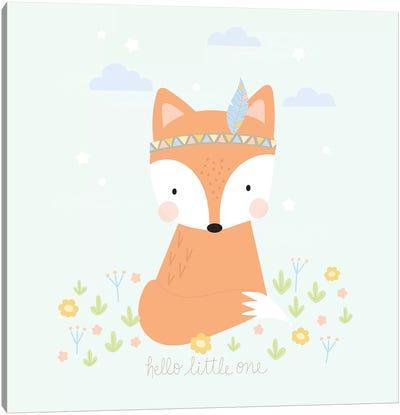 Boho Baby Canvas Art Print