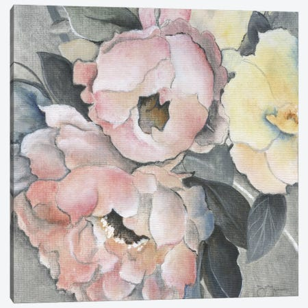 Dusty Rose Canvas Print #TAV10} by Tava Studios Art Print