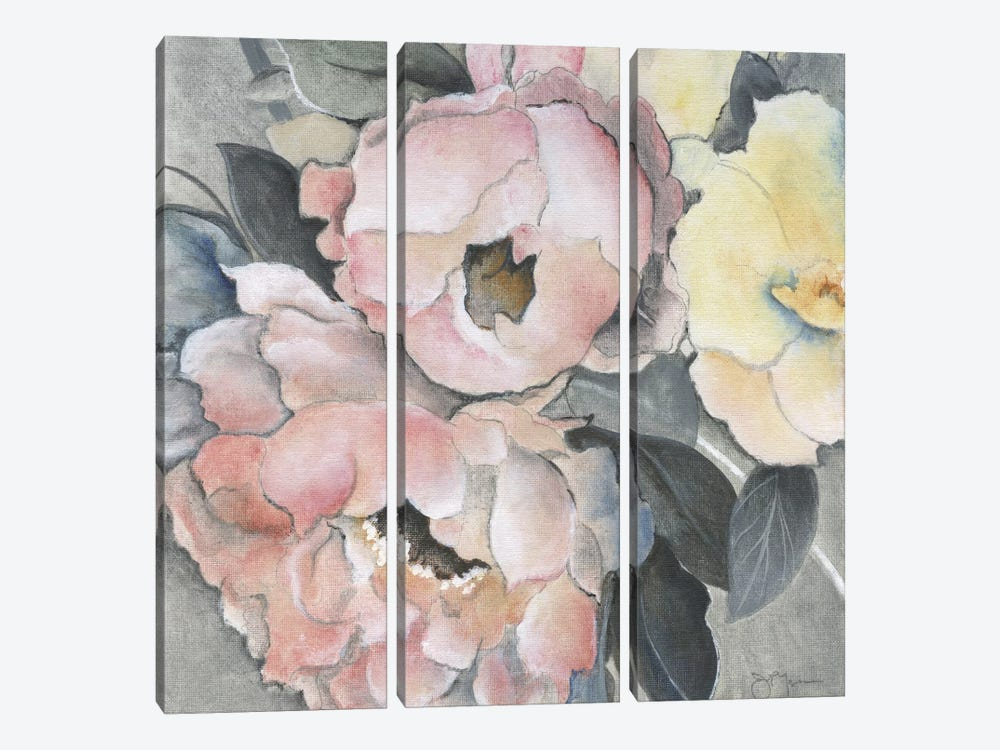 Dusty Rose by Tava Studios 3-piece Canvas Wall Art